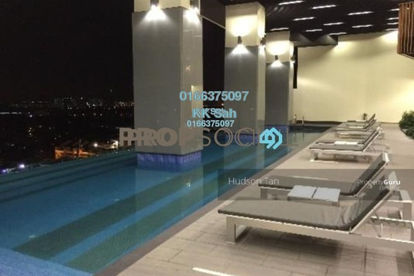 For Sale Serviced Residence at TRiGON Luxury Residences @ Setia Walk, Pusat Bandar Puchong Freehold Fully Furnished 5R/4B 1.1m