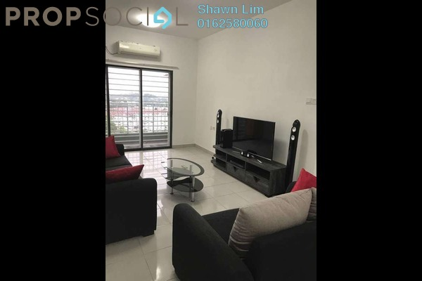 For Rent Condominium at Ivory Residence, Kajang Freehold Fully Furnished 3R/2B 1.5k