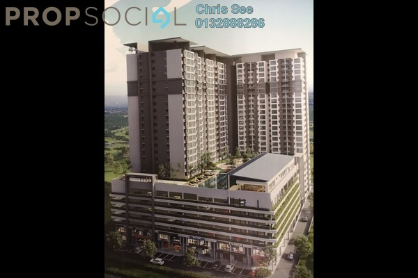For Sale Condominium at Suria Putra, Bukit Rahman Putra Freehold Unfurnished 2R/2B 475k