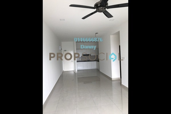 For Rent Condominium at The Parc Tower, Setapak Freehold Semi Furnished 3R/2B 1.8k