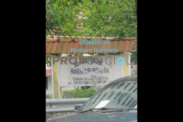 For Rent Apartment at Segar Ria Apartment, Cheras Freehold Unfurnished 3R/2B 650translationmissing:en.pricing.unit