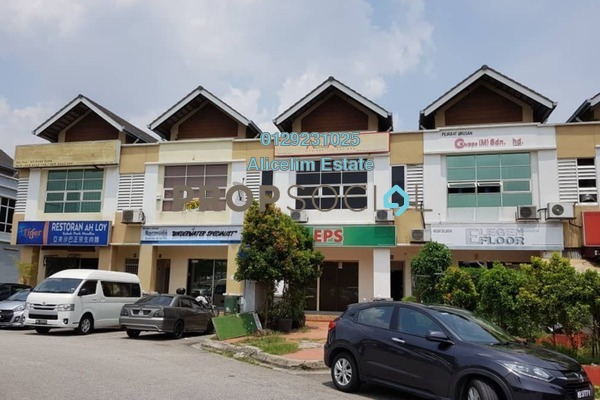 For Rent Shop at Bistari De Kota, Kota Damansara Freehold Semi Furnished 0R/1B 3.5k