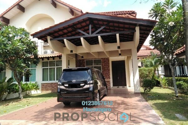 For Rent Semi-Detached at Maplewoods, Saujana Freehold Semi Furnished 5R/4B 7.3k