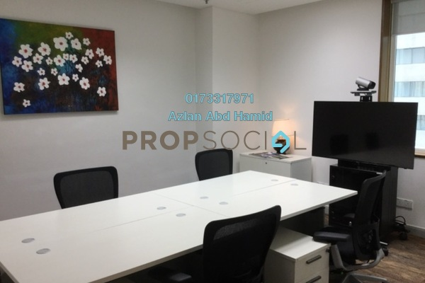 For Rent Office at Etiqa Twins, KLCC Freehold Fully Furnished 0R/0B 2.9k