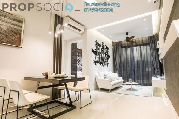 For Sale Condominium at Far East Residence, Kuchai Lama Freehold Semi Furnished 2R/2B 438k