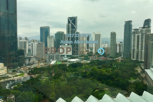 For Rent Office at Etiqa Twins, KLCC Freehold Fully Furnished 0R/0B 10.8k