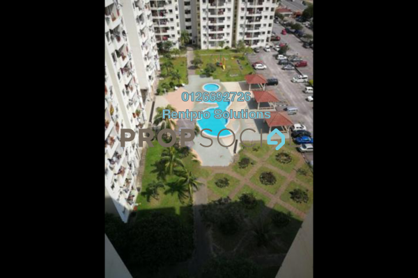 For Rent Condominium at Pandan Court, Pandan Indah Freehold Unfurnished 3R/2B 1.8k