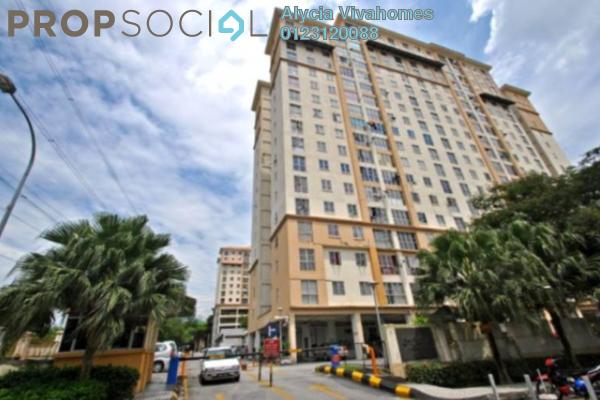 For Sale Condominium at Sri Jati I, Old Klang Road Freehold Semi Furnished 3R/2B 370k