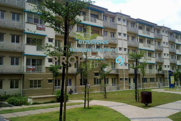 For Rent Apartment at Taman Cheras Intan, Batu 9 Cheras Freehold Unfurnished 3R/2B 1.2k