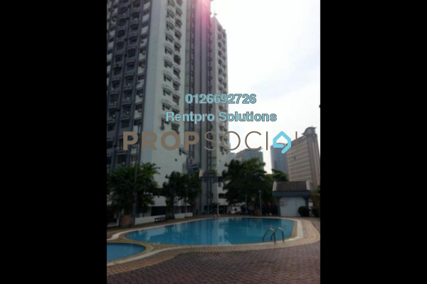 For Rent Condominium at Menara Seputih, Seputeh Freehold Fully Furnished 3R/2B 1.9k