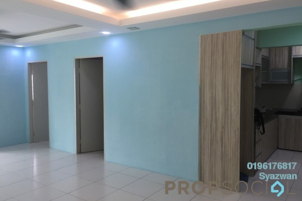 For Rent Apartment at Lakeview Apartment, Batu Caves Freehold Semi Furnished 3R/2B 1.1k