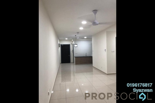 For Rent Condominium at KL Traders Square, Kuala Lumpur Freehold Semi Furnished 3R/2B 1.7k
