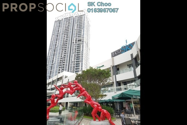 For Rent Condominium at EcoSky, Jalan Ipoh Freehold Fully Furnished 3R/2B 2.2k