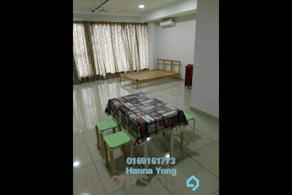 For Rent SoHo/Studio at Pacific Place, Ara Damansara Freehold Semi Furnished 0R/1B 1.4k