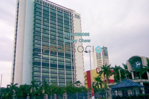 For Rent Office at Menara MRCB, Shah Alam Freehold Semi Furnished 0R/0B 14.8k