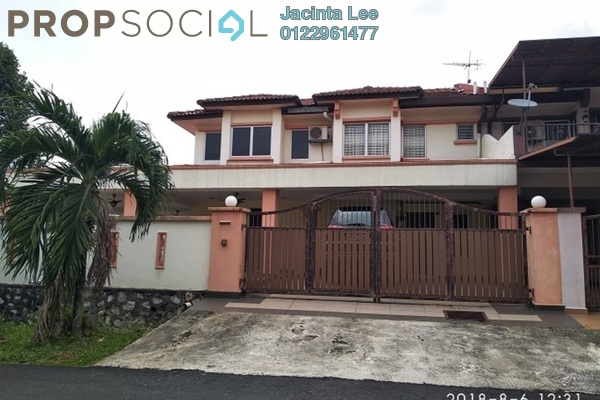 For Sale Terrace at Taman Puncak Jalil, Bandar Putra Permai Freehold Semi Furnished 7R/6B 672k