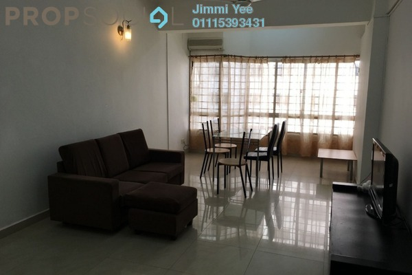 For Rent Condominium at Pearl Point Condominium, Old Klang Road Freehold Fully Furnished 3R/2B 1.8k