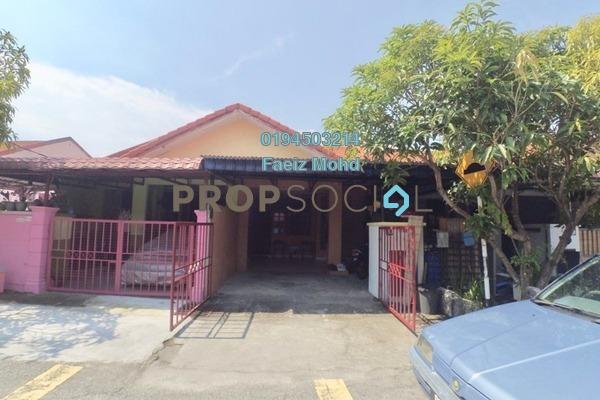 For Sale Terrace at Taman Pahlawan, Telok Panglima Garang Freehold Unfurnished 3R/2B 280k
