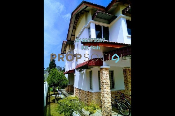 For Sale Semi-Detached at Kemuning Greenhills, Kota Kemuning Freehold Semi Furnished 4R/3B 900k