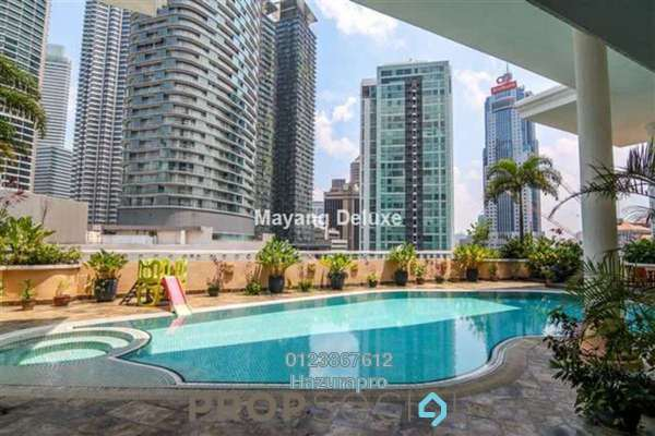 For Sale Condominium at Mayang Court, KLCC Freehold Fully Furnished 2R/2B 1.43m