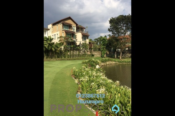 For Sale Bungalow at Lakeside Residence, Kota Kemuning Freehold Semi Furnished 5R/7B 6.8m