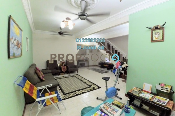 For Sale Terrace at Subang Impian, Shah Alam Leasehold Semi Furnished 4R/3B 500k