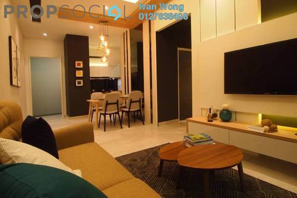 For Sale Condominium at Majestic Maxim, Cheras Freehold Unfurnished 3R/2B 389k