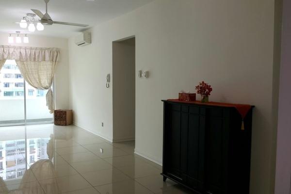 For Sale Condominium at Kiara Residence, Bukit Jalil Freehold Semi Furnished 3R/2B 550k