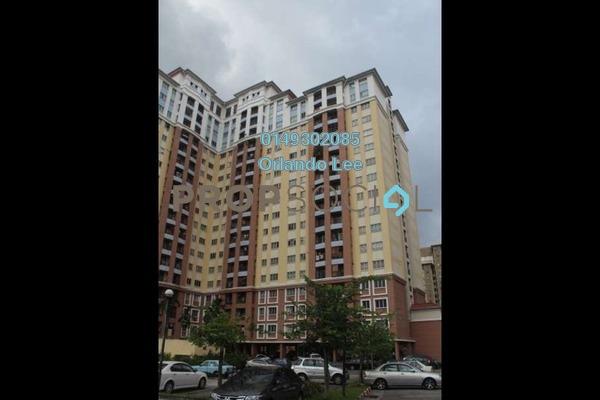 For Rent Condominium at Villa Tropika @ Pudu Impian II, Cheras Freehold Semi Furnished 3R/2B 1.1k