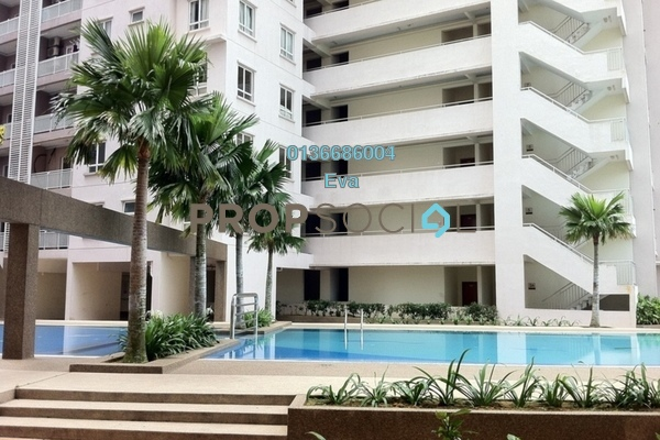 For Rent Condominium at Cova Villa, Kota Damansara Freehold Fully Furnished 3R/0B 2k