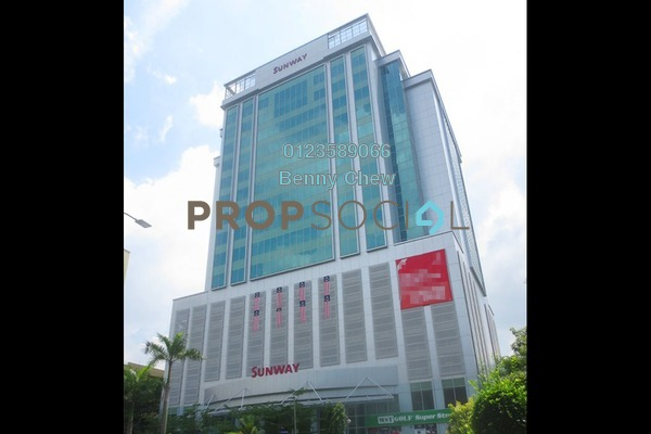 For Rent Office at Wisma Sunway, Shah Alam Freehold Semi Furnished 0R/0B 16k
