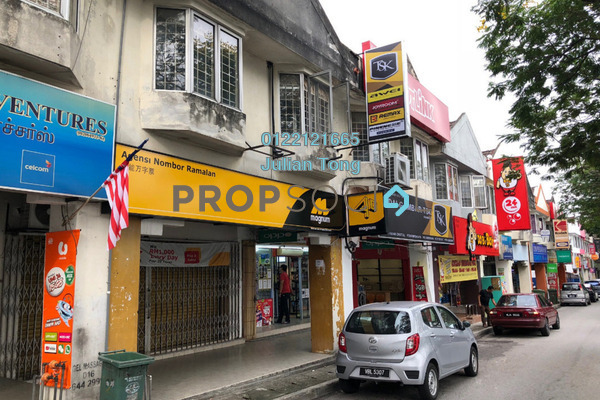For Sale Shop at Taman Sri Sinar, Segambut Freehold Unfurnished 0R/2B 1.5m