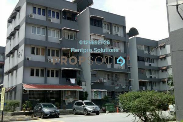 For Rent Apartment at Desa Pandan Apartment, Desa Pandan Freehold Semi Furnished 3R/2B 1.3k