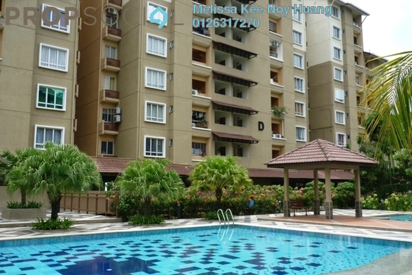 For Sale Condominium at Paradesa Tropika, Bandar Sri Damansara Freehold Semi Furnished 2R/2B 520k