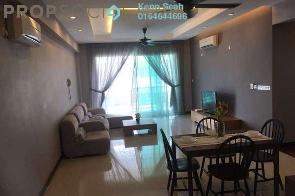 For Rent Condominium at BayStar, Bayan Indah Freehold Fully Furnished 4R/3B 3.8k