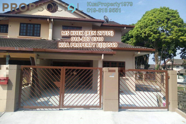 For Sale Terrace at Tabuan Heights, Kuching Freehold Unfurnished 3R/3B 695k