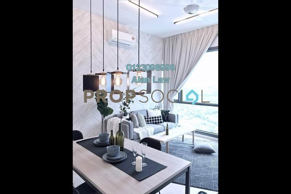 For Rent Serviced Residence at Vogue Suites One @ KL Eco City, Mid Valley City Freehold Fully Furnished 2R/2B 5k