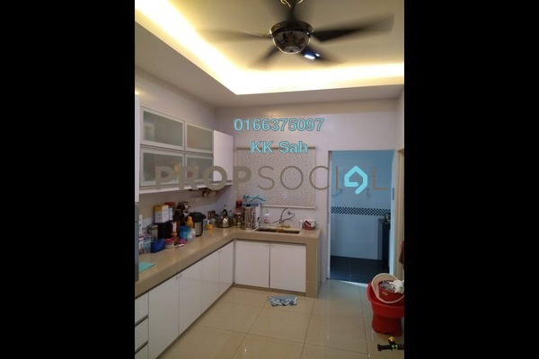 For Sale Superlink at Taman Sri Putra Mas, Sungai Buloh Freehold Fully Furnished 4R/3B 860k