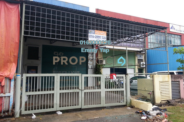 For Sale Factory at Taman Perindustrian Puchong, Puchong Freehold Unfurnished 0R/0B 1.4百万