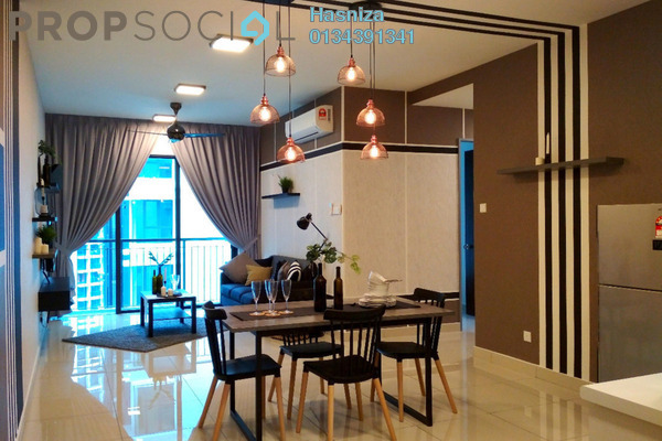 For Rent Serviced Residence at KL Traders Square, Kuala Lumpur Freehold Fully Furnished 3R/2B 2.4k