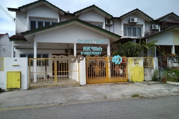 For Sale Terrace at Taman Sentosa, Klang Freehold Semi Furnished 4R/3B 385k