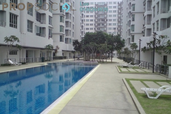 For Rent Apartment at Casa Tiara, Subang Jaya Freehold Fully Furnished 3R/2B 2.6k