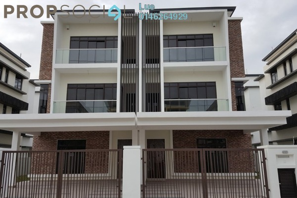 For Sale Semi-Detached at Alam Nusantara, Setia Alam Freehold Unfurnished 4R/6B 1.4m