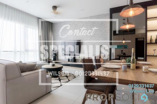 For Sale Condominium at Scenaria, Segambut Freehold Semi Furnished 2R/2B 600k