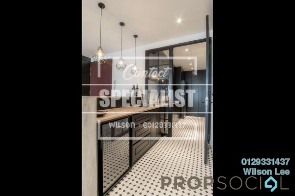For Sale Condominium at Scenaria, Segambut Freehold Semi Furnished 3R/3B 680k