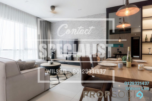 For Rent Condominium at Scenaria, Segambut Freehold Semi Furnished 2R/2B 1.5k