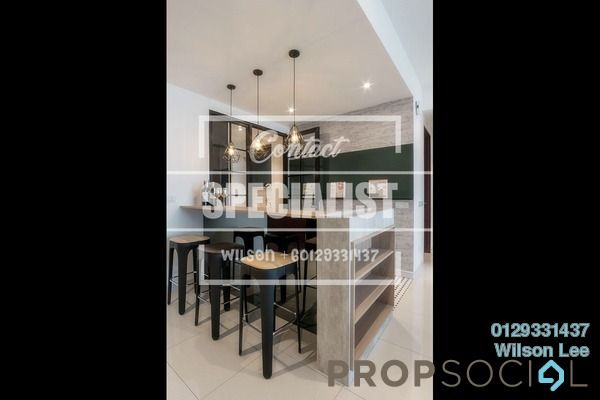 For Rent Condominium at Scenaria, Segambut Freehold Semi Furnished 3R/2B 1.7k
