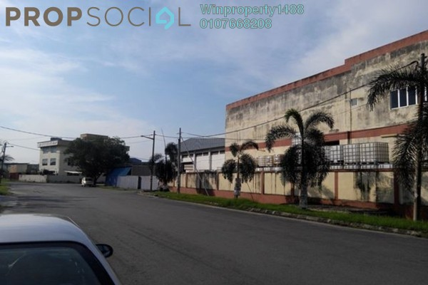 For Sale Factory at Taman Perindustrian Plentong, Johor Bahru Freehold Unfurnished 0R/0B 3.2m