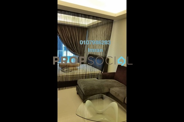 For Rent Serviced Residence at Chelsea, Sri Hartamas Freehold Fully Furnished 0R/1B 1.85k