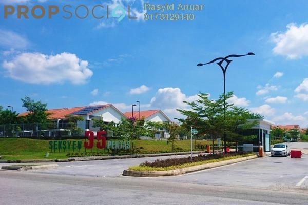 For Rent Terrace at Pentas, Alam Impian Freehold Semi Furnished 4R/5B 2.3k